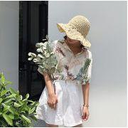 ボタニカルシャツ レディース 韓国 オルチャン かわいい おしゃれ トロピカル 南国 夏