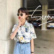 トロピカルシャツ レディース 韓国 オルチャン かわいい おしゃれ 南国 夏