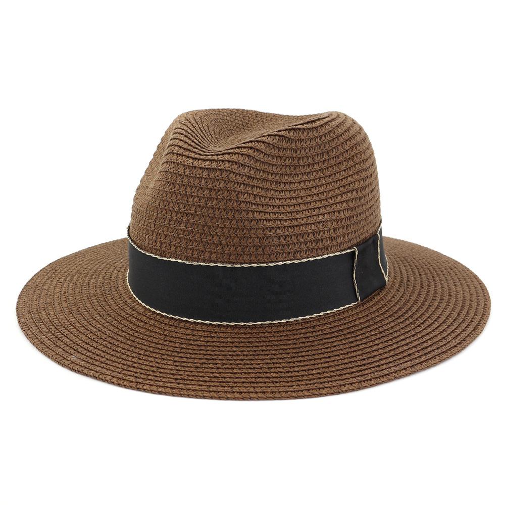 激安☆トラベル◆UVカット麦わら帽子◆ストローハット◆ボーラーハット◆サンバイザー◆春夏ジャズ帽