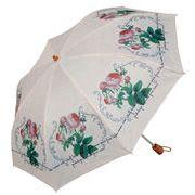 <AMANO>【折りたたみ傘】ピエールジョセフ ローズピンク