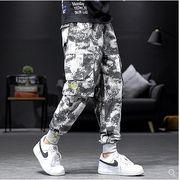 【大きいサイズM-5XL】ファッション/人気パンツ♪ブラック/アンズ2色展開◆