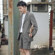 韓国 韓国ファッション ジャケット 新作 メンズ スーツ 長袖 面接 ビジネス パーティー  結婚式 カジュアル