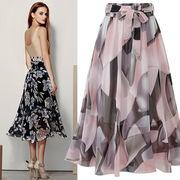 春夏新商品730802 大きいサイズ ドレス 婦人服 日韓風 スカート3L 4L 5L 6L
