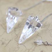 ペンデュラム 水晶(カット)  品番: 7446