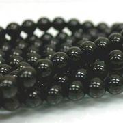 連 モリオン(黒水晶)AAA チベット産 14mm  品番: 6063