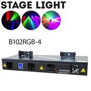 舞台照明 B102RGB-4 レーザーライト レッド/グリーン/ブルー コンセント式