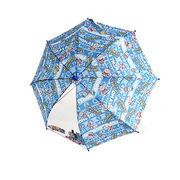 45cm 傘 きかんしゃトーマス ロゴボーダー