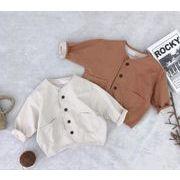 ジャケット 2色 キッズ 80-120 普段着 長袖 子供服 コート 日常用 女の子 男の子