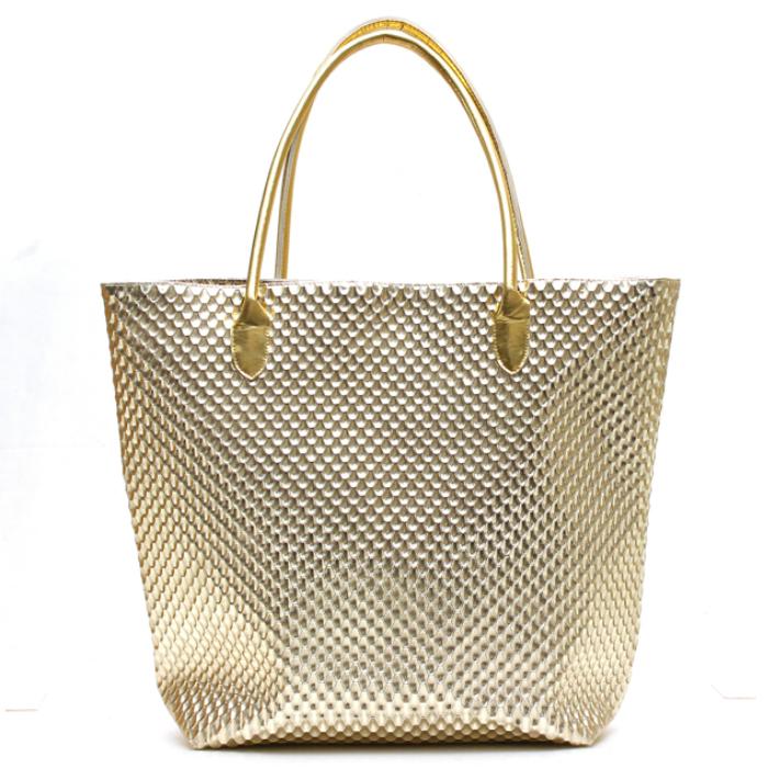 ビニゴールドバッグ