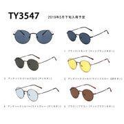 【TY3547】メタルラウンド★アンティーク調★カラーレンズサングラス【5色展開♪】