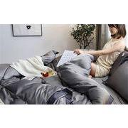 華やかな印象に 韓国ファッション INSスタイル 枕カバー 4点セット ふとんのシーツ シーツ 氷の糸 寝具