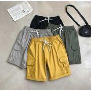 メンズ新作半ズボン ジョガーパンツ チノパン ハーフパンツ カジュアル 全4色