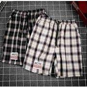 メンズ新作半ズボン ジョガーパンツ チノパン ハーフパンツ カジュアル ホワイト/ブラック2色
