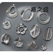 新品初日販売20%OFF♪ 樹脂素材 透明ペンダント アクセサリーパーツ