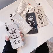 【ファッション新品】 携帯電話カバー iPhoneカバー スマホケース 保護 スヌーピー 透明