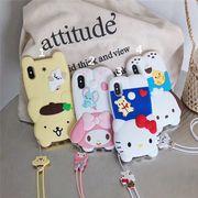 【ファッション新品】 携帯電話ケース iPhoneカバー スマホケース 保護 ハローキティ