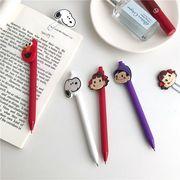【創意文具】 ボールペン 学生用品 文房具 筆 可愛いい 黒インク スヌーピー 不二家