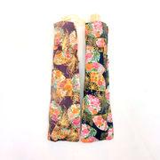 【日本製】【晴雨兼用】【折りたたみ傘】和調金粉和柄プリント乱菊扇柄日本製UVカット折畳傘