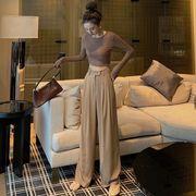 夏 新しいデザイン ファッション アンティーク調 女性服 ハイウエスト 着やせ カジュア