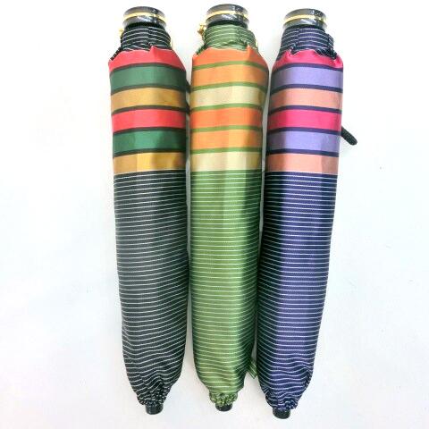 【日本製】【雨傘】【折りたたみ傘】甲州産先染朱子格子織軽量コンパクト骨日本製折傘