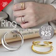 vnsh000607◆5000以上【送料無料】◆シルバー925リング◆開口指輪 シンプル