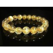 現品一点物 タイチンルチル ブレスレット 金針水晶数珠 10ミリ PTR29 至高の品質 勝負運