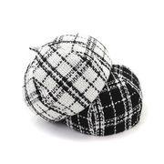 激安☆インスタ映え 新発売◆レディース ハット◆ベレー帽◆帽子◆小顔 おしゃれ◆ハット◆チエック柄
