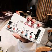 【ファッション新品】 スマホケース 携帯電話カバー サムソンカバー Samsungケース 保護 スヌーピー