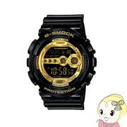 【逆輸入品】 カシオ 腕時計 G-SHOCK Black×Gold Series GD-100GB-1