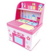 ままごと 収納 ボックス (キッチン)女の子向き 子供部屋 収納 おままごと お片付け(在庫処分)