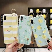 アイフォーンカバー iPhone ケース レモン柄 アイフォンケース