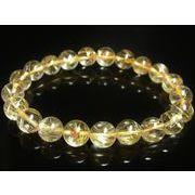 オススメ お試し価格 一点物 ゴールドルチル ブレスレット 金針水晶 天然石 数珠 10ミリ R37