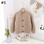 【秋冬新作】 セーター コート ニット 韓国子供服 キッズ 秋冬 ファッション