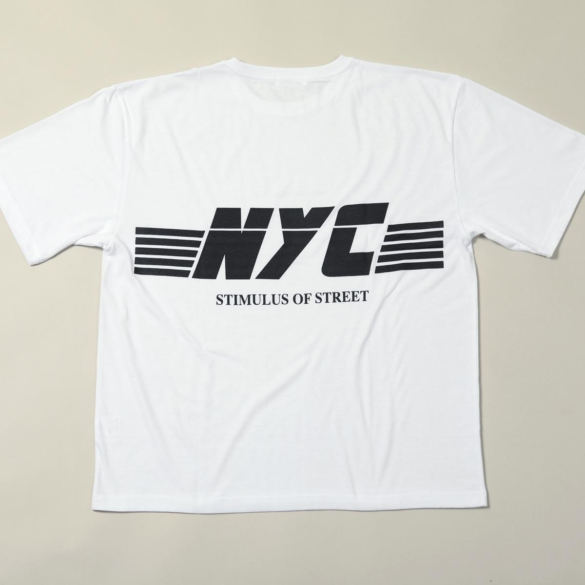 プリント半袖クルーネック <NYC>