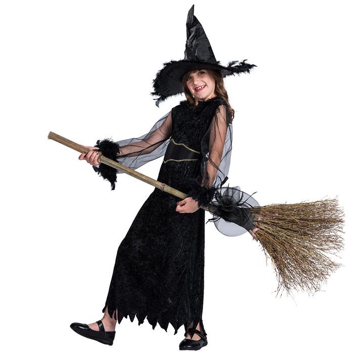 ハロウィン 万聖節 cosplay コスプレ 子供用 巫女  キッズ服 魔女 衣装 万聖節