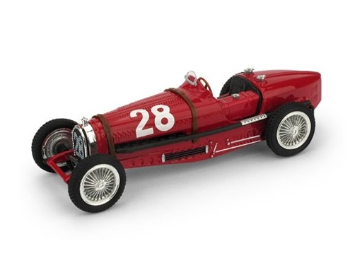 BRUMM/ブルム ブガッティ タイプ 59 1934年モナコGP #28 Tazio Nuvolari