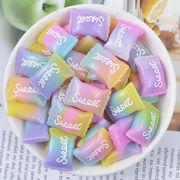 食べ物真似る アクリルパーツ キャンデー 手作りDIY デコパーツ チャーム アクセサリー スマホケース