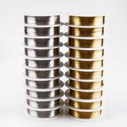 1個 銅線 極細0.2mm 太0.6mm/0.8mm 2色 コード ライン ワイヤー 針金 材料 ハンドメイド 手芸