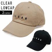 帽子 キャップ メンズ レディース ベースボールキャップ コットン ロゴ CLEAR 春 夏 秋 冬 キーズ Keys