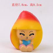 激安☆サンプル★スクイーズ★フォーカス玩具squishy★ストレス解消グッズ★果物フルーツ マンゴー