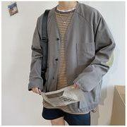 【大きいサイズS-XXL】ファッション/人気コート♪グレー/カーキ/グリーン3色展開◆