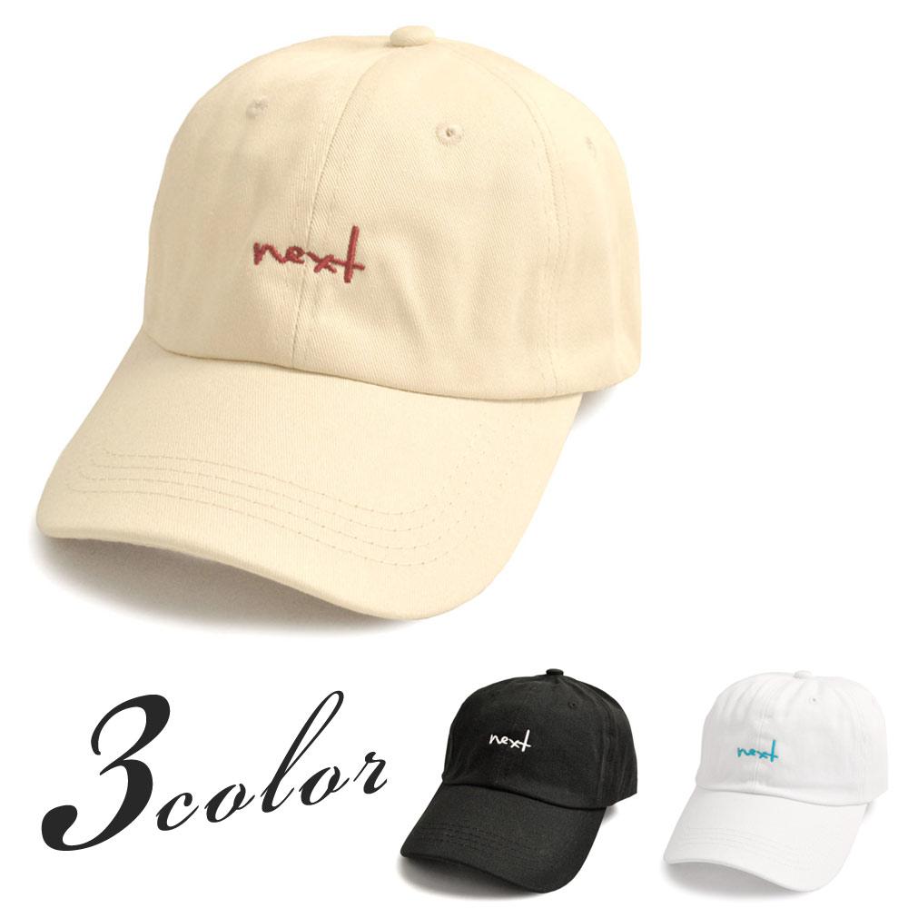 ▼MAGGIO▼【キャップコーデを楽しめる♪】next刺繍POPロゴキャップ(帽子)