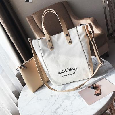 激安☆ショルダーバッグ◆エコバッグ◆ハンドバッグ◆ズック鞄 親子かばん 大容◆ショッピングバッグ3色