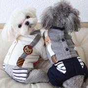 新作 犬服 ワンちゃん服 ドッグウェア 犬 猫服 猫 ペット用品 (XS-XL)
