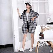【大きいサイズL-XXL】ファッション/人気ワイシャツ♪ブラック/アカ/カーキ3色展開◆