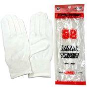 紳士用白手袋 作業用 綿 シームレスカーグローブ No.200 4120-802