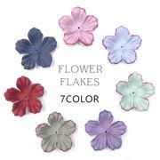 業務用約50枚入り【FLOWER FLAKES -フラワーフレーク- 7色】 ハンドメイド アクセサリー レジン