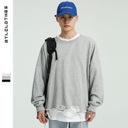 ジャケット メンズ レディース ラウンドネック 無地 ジュアル SALE 2019秋冬新作 ファッション 長袖