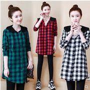 【大きいサイズL-5XL】ファッション/人気ワイシャツ♪アカ/ブラック/グリーン3色展開◆
