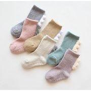 【2枚から】ベビー靴下 厚手 子供 キッズ 0-3歳 新作 可愛いソックス ベビー用 ファション